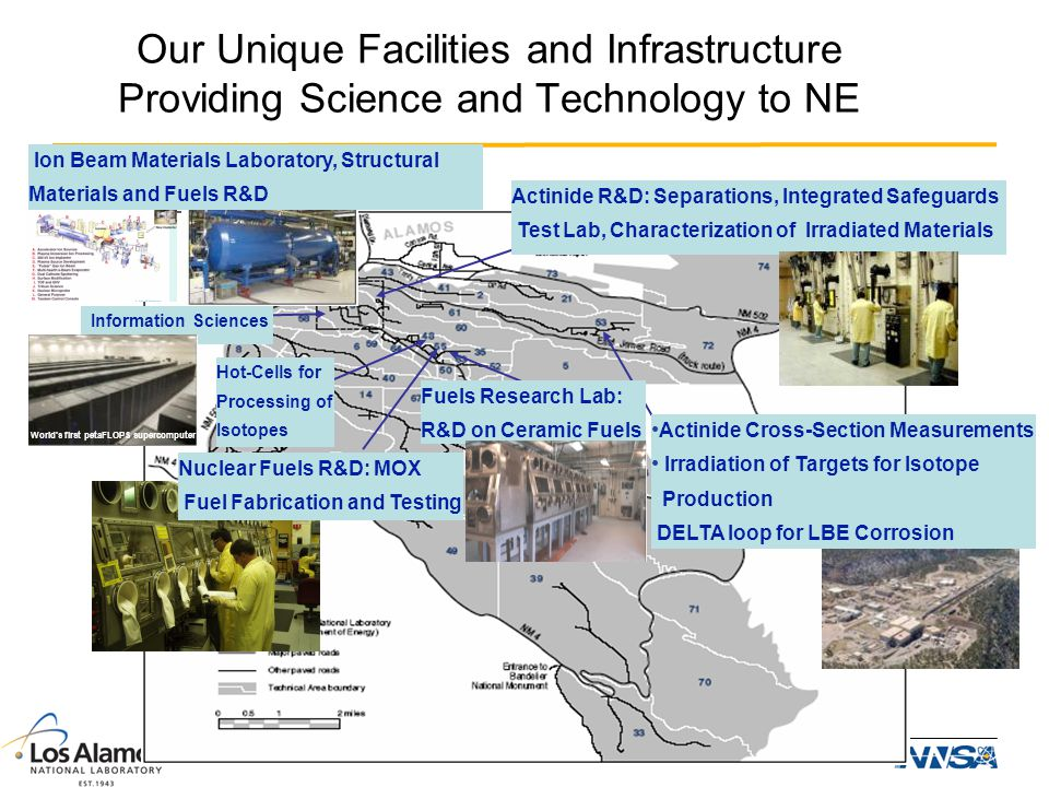 Our Unique Facilities and Infrastructure Providing Science and Technology to NE