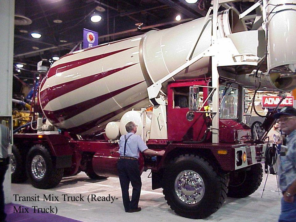 Transit Mix Truck (Ready-