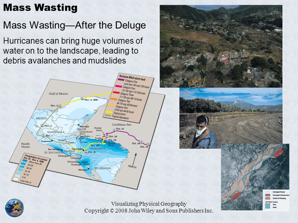 Mass Wasting—After the Deluge