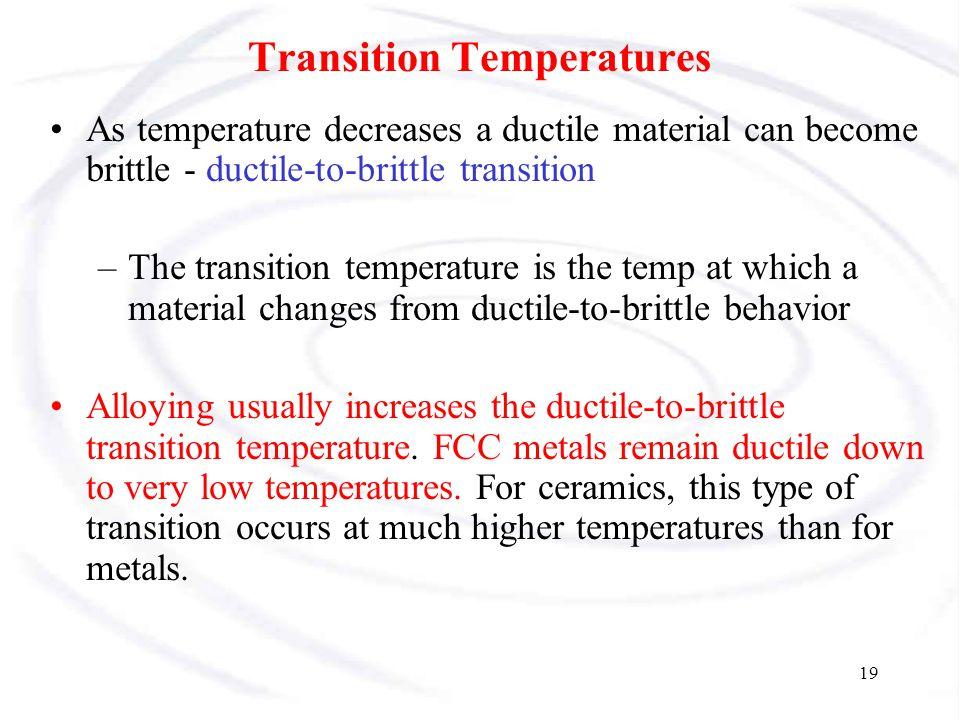 Transition Temperatures