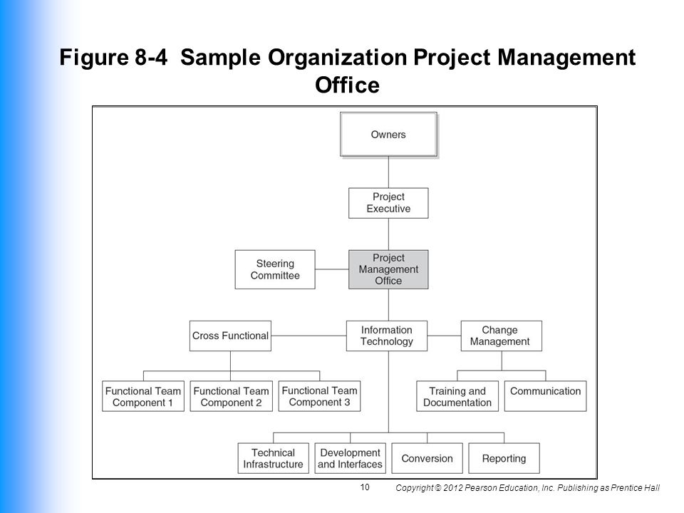 Figure 8-4 Sample Organization Project Management Office
