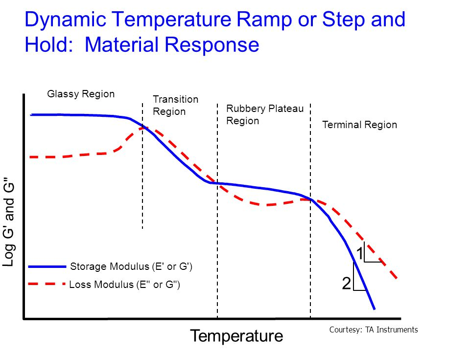 Dynamic Temperature Ramp or Step and Hold: Material Response