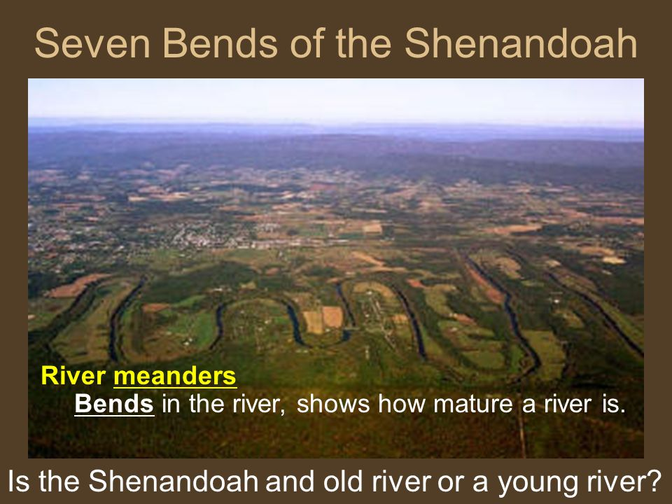 Seven Bends of the Shenandoah