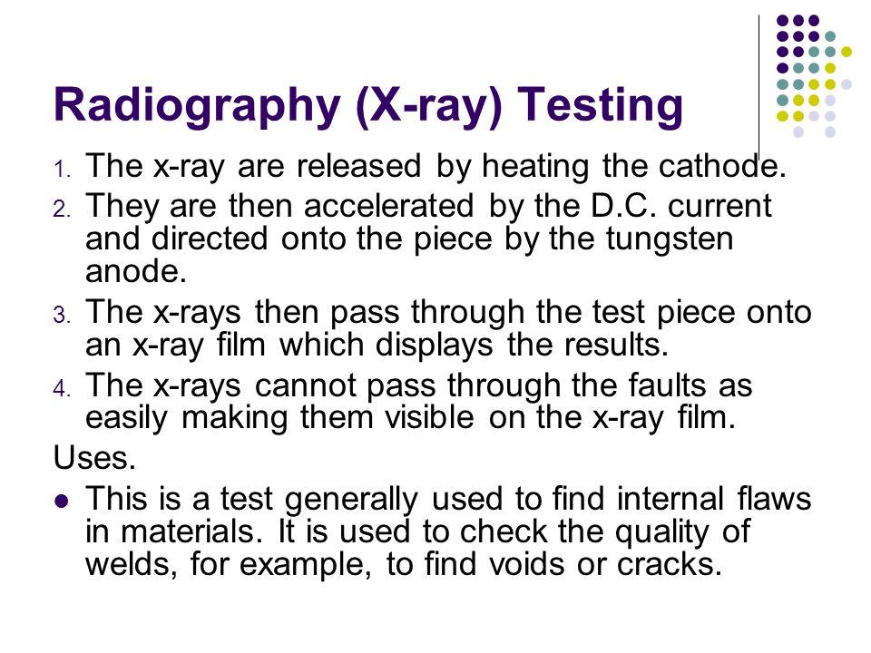 Radiography (X-ray) Testing
