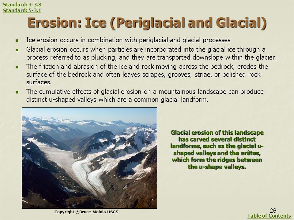 Erosion: Ice (Periglacial and Glacial)