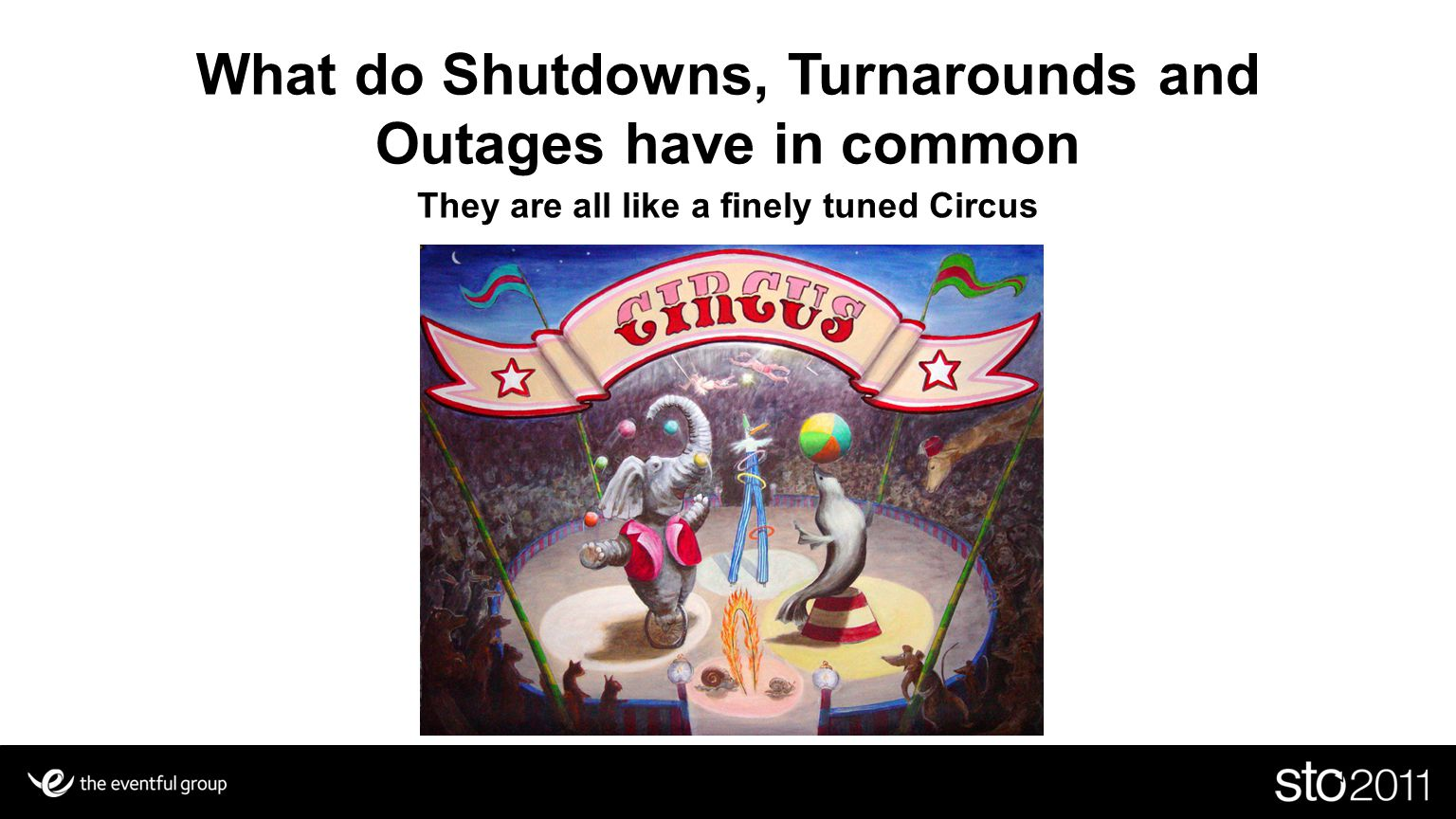 What do Shutdowns, Turnarounds and Outages have in common