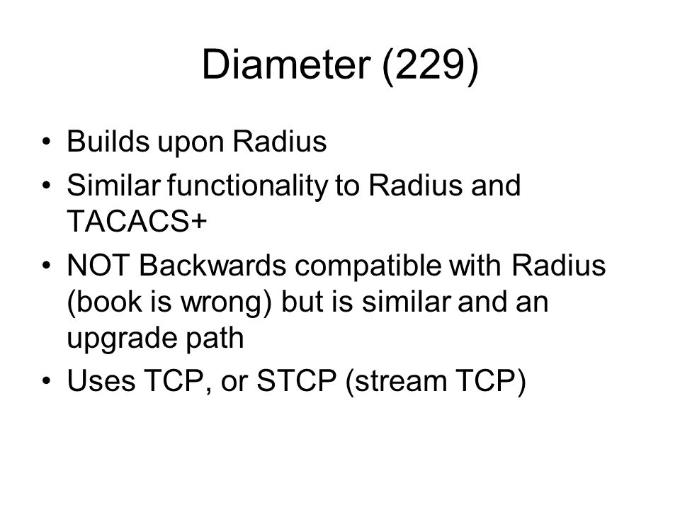 Diameter (229) Builds upon Radius