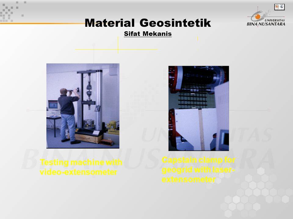 Material Geosintetik Sifat Mekanis