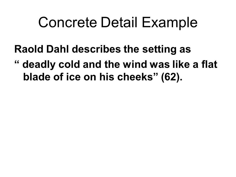 Concrete Detail Example