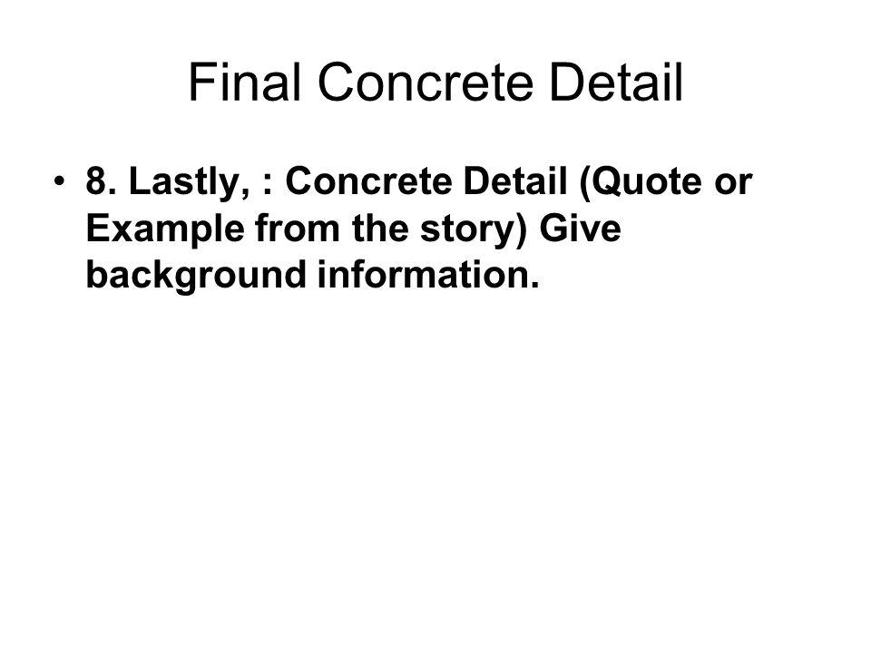 Final Concrete Detail 8.