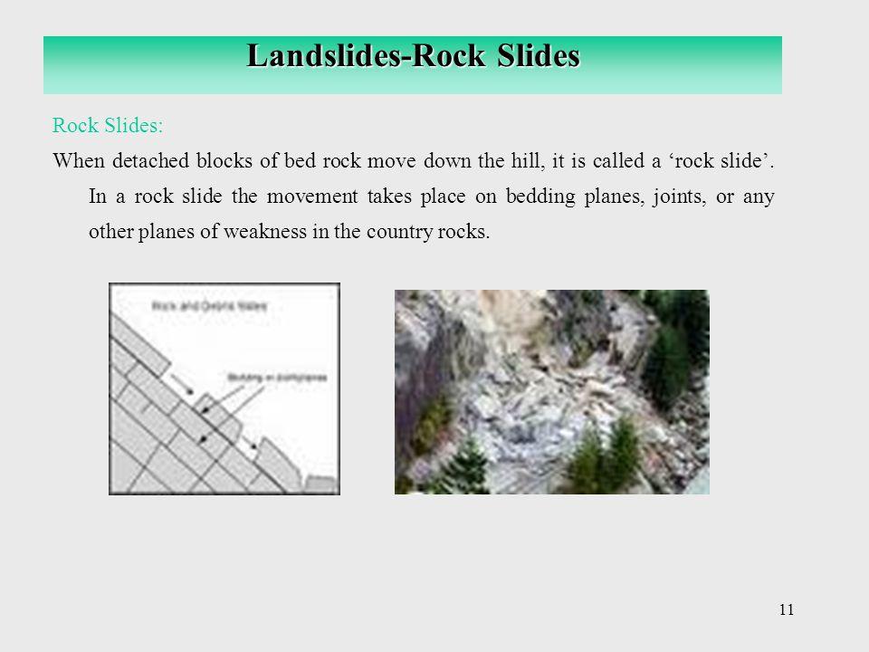 Landslides-Rock Slides