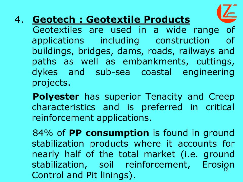 4. Geotech : Geotextile Products.