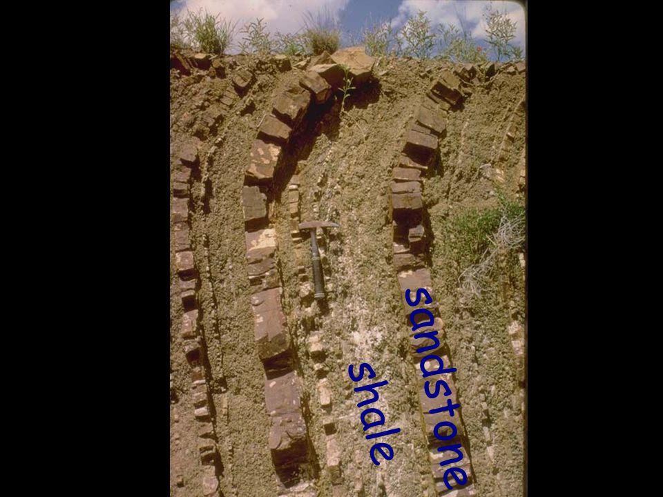 sandstone shale