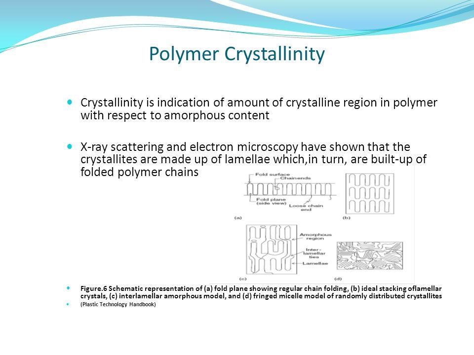 Polymer Crystallinity