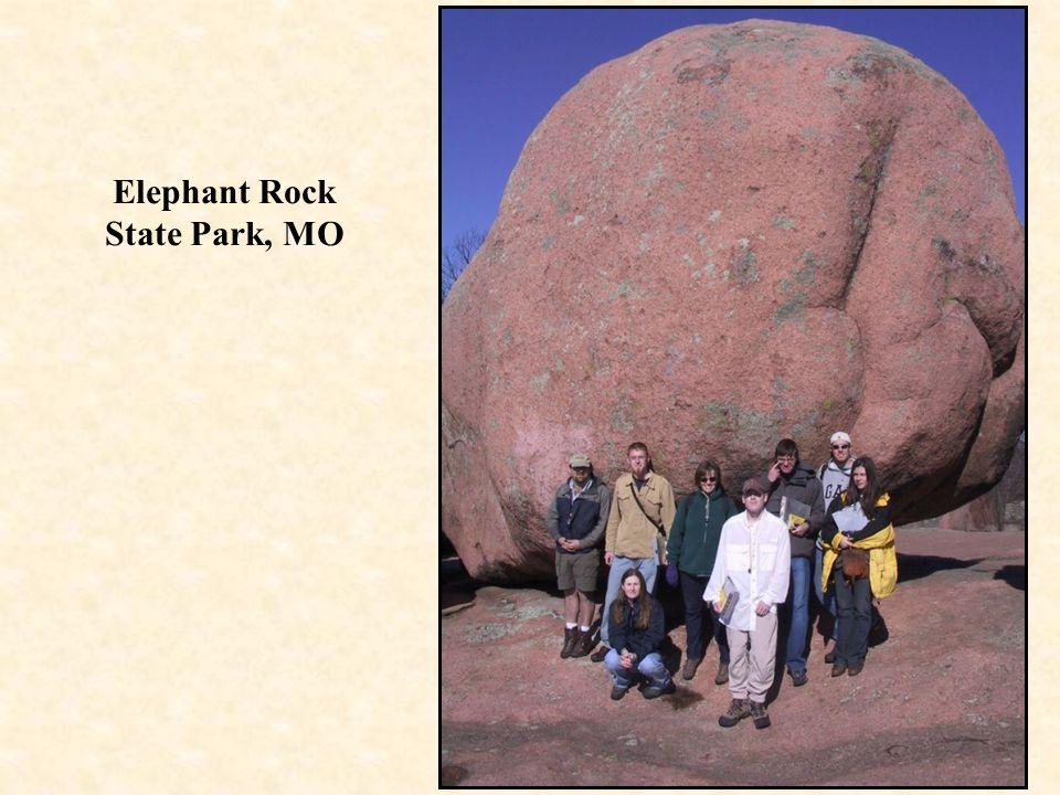 Elephant Rock State Park, MO