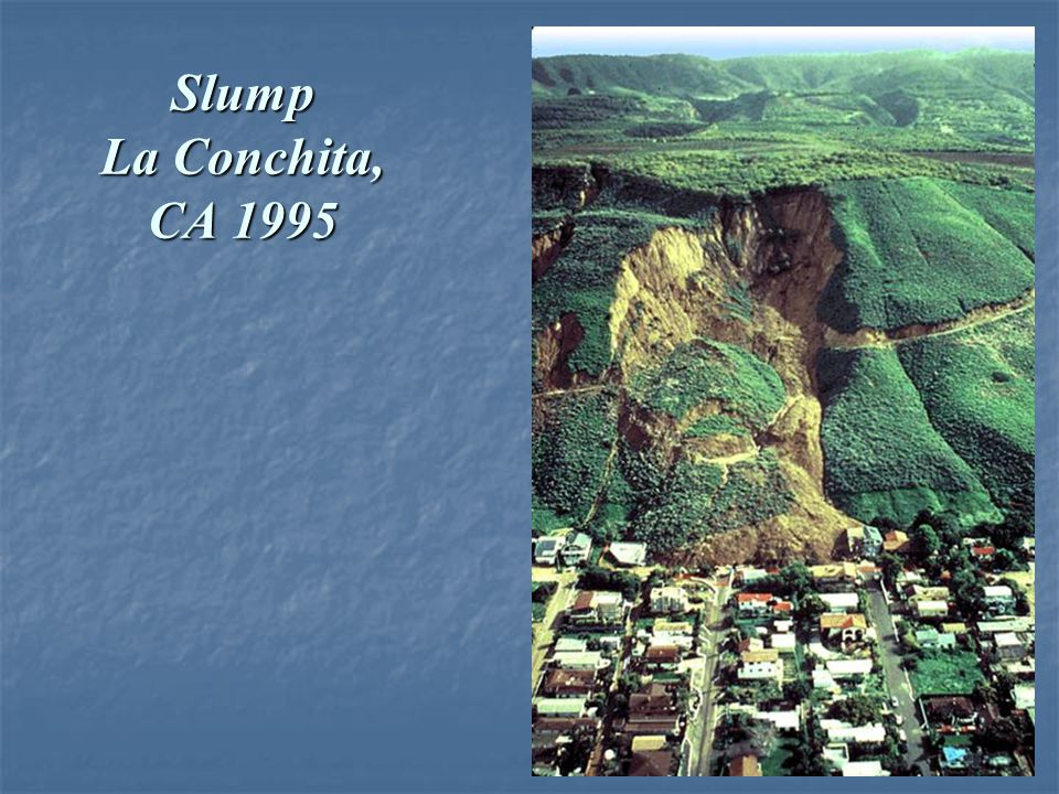 Slump La Conchita, CA 1995