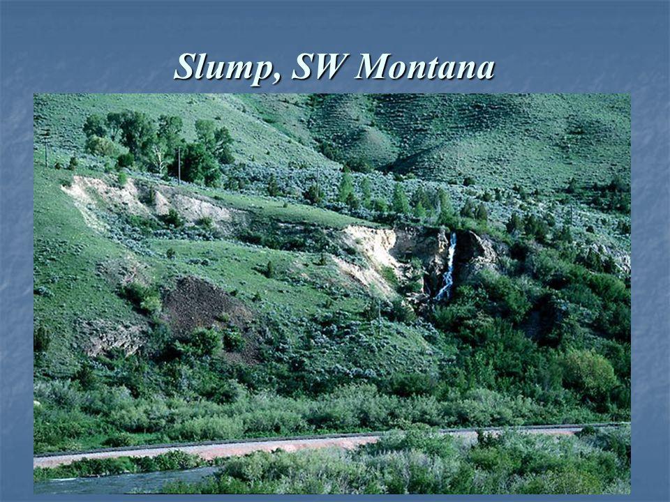 Slump, SW Montana
