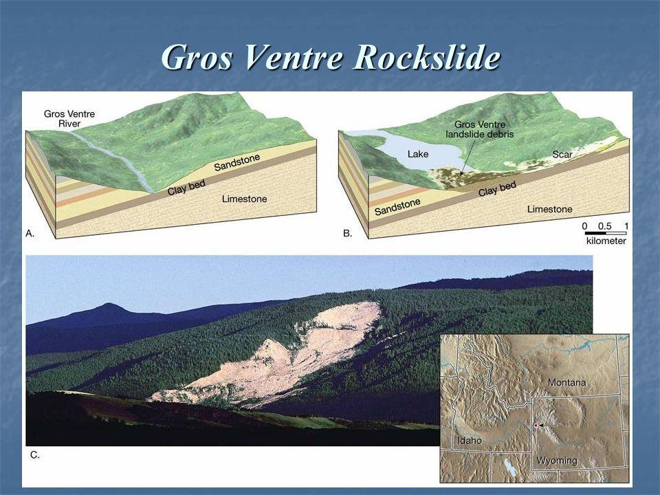 Gros Ventre Rockslide