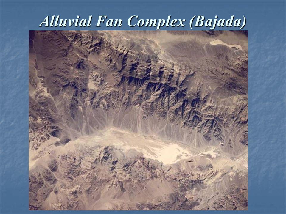 Alluvial Fan Complex (Bajada)