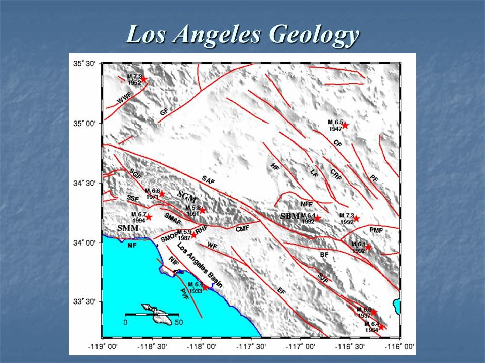 Los Angeles Geology