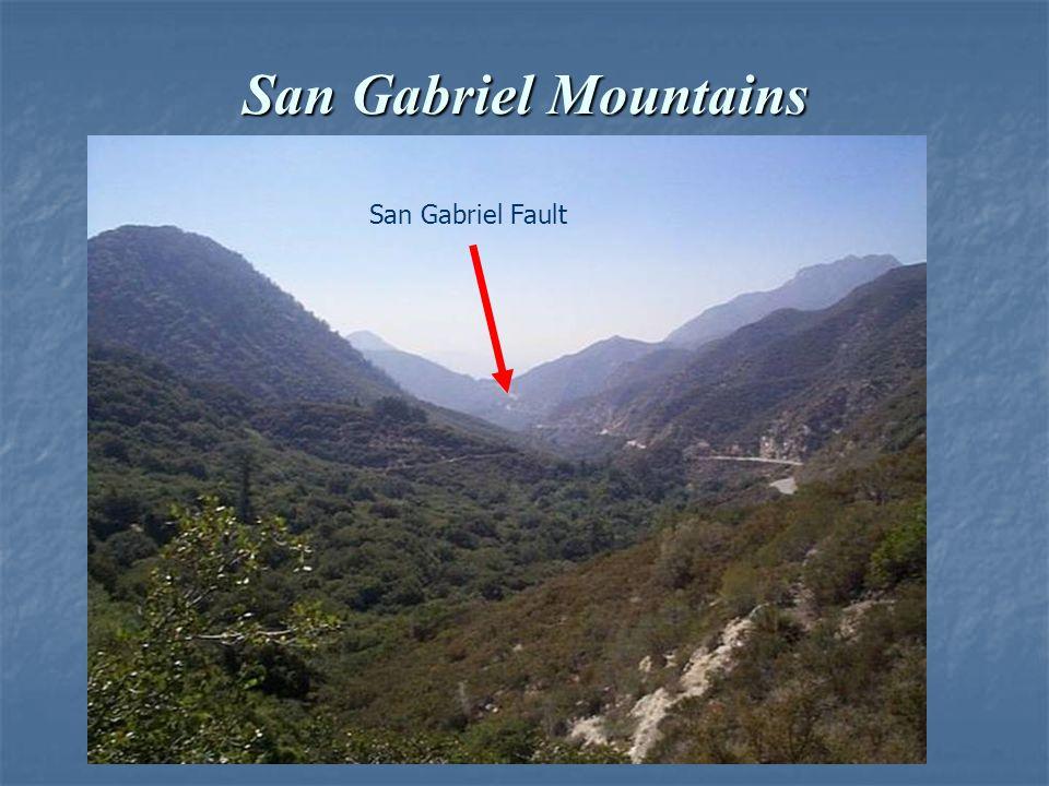 San Gabriel Mountains San Gabriel Fault