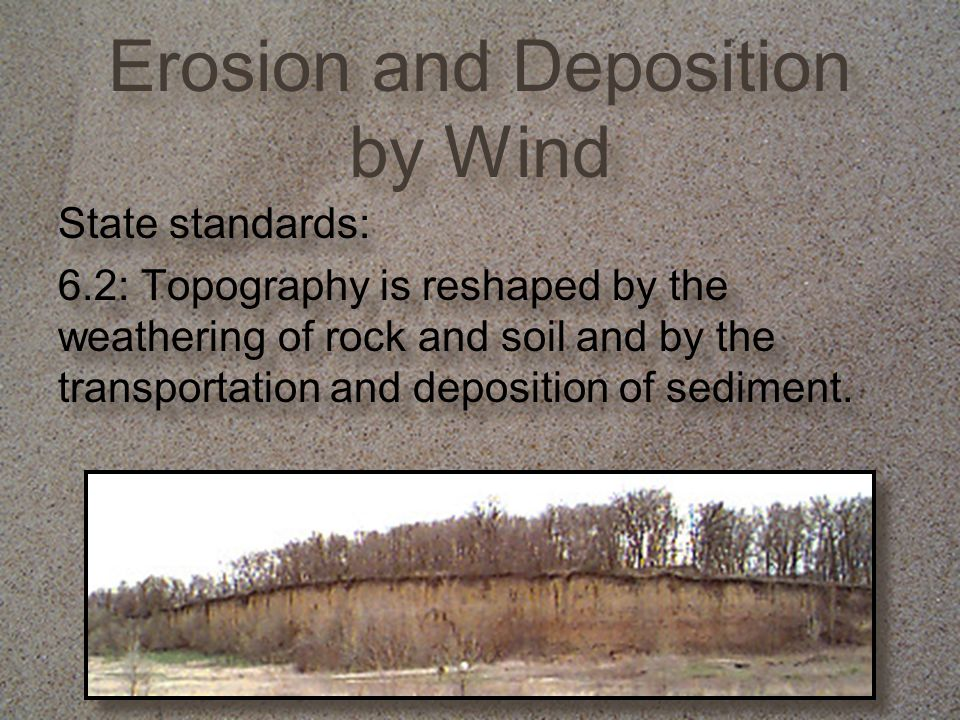 Erosion and Deposition by Wind