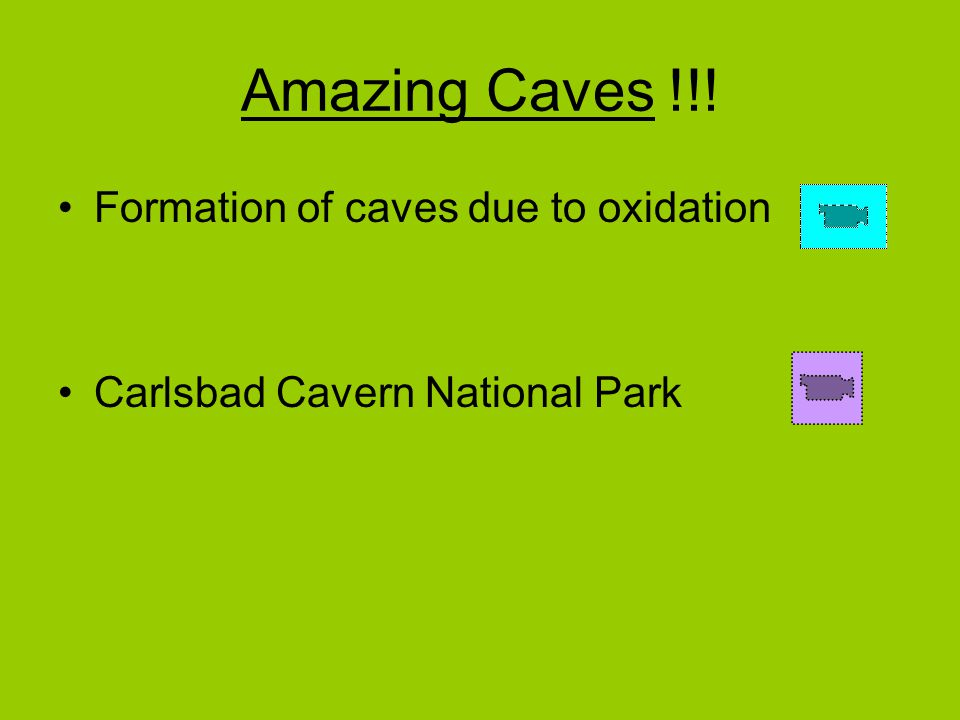 Amazing Caves !!! Formation of caves due to oxidation