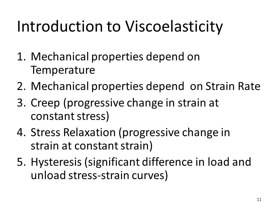 Introduction to Viscoelasticity