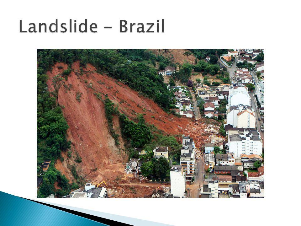 Landslide - Brazil