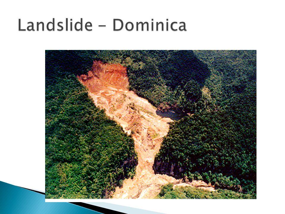 Landslide - Dominica