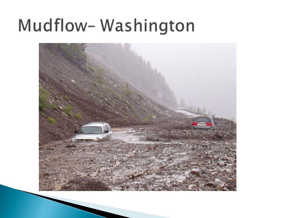 Mudflow– Washington