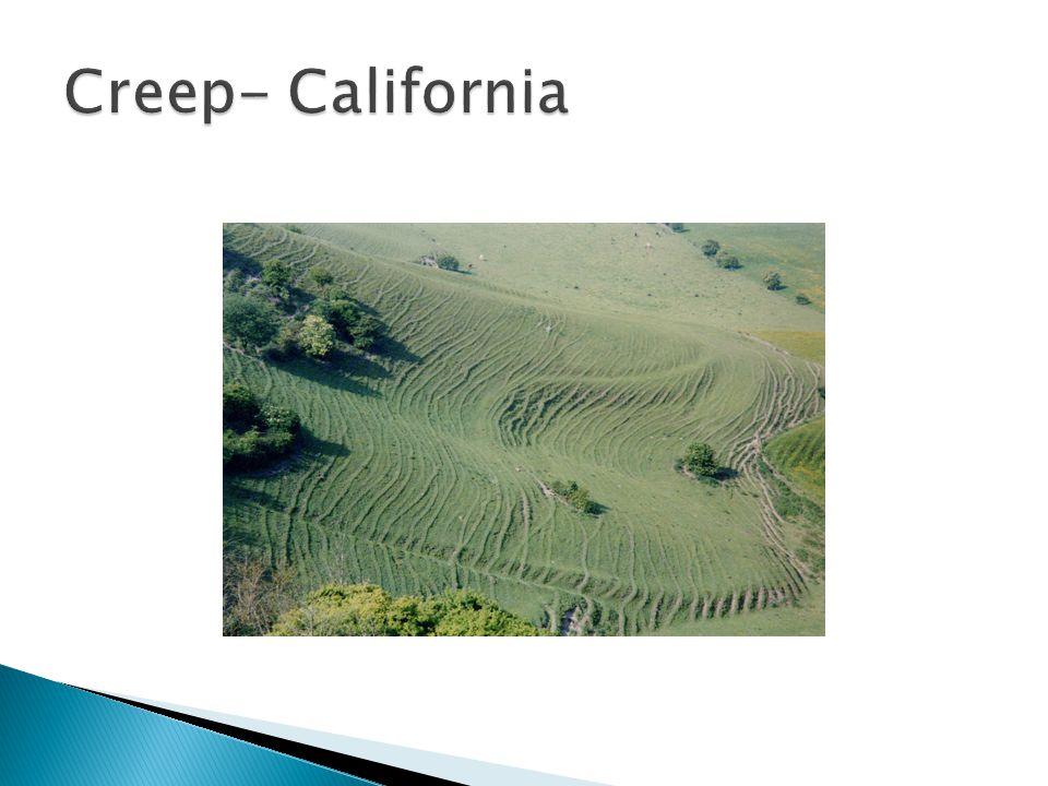Creep- California