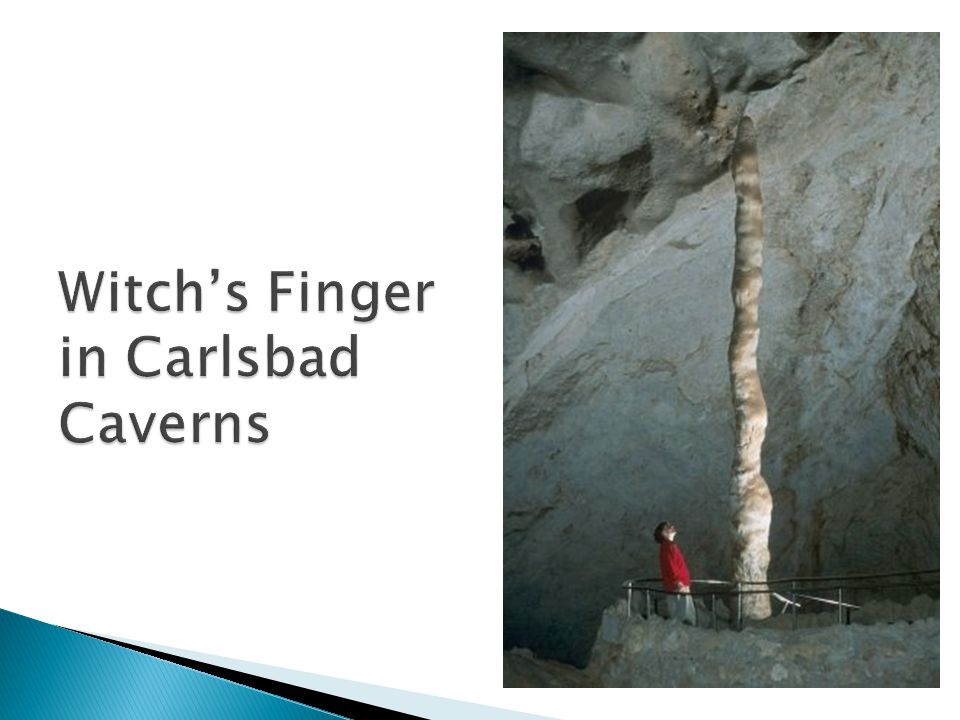 Witch's Finger in Carlsbad Caverns