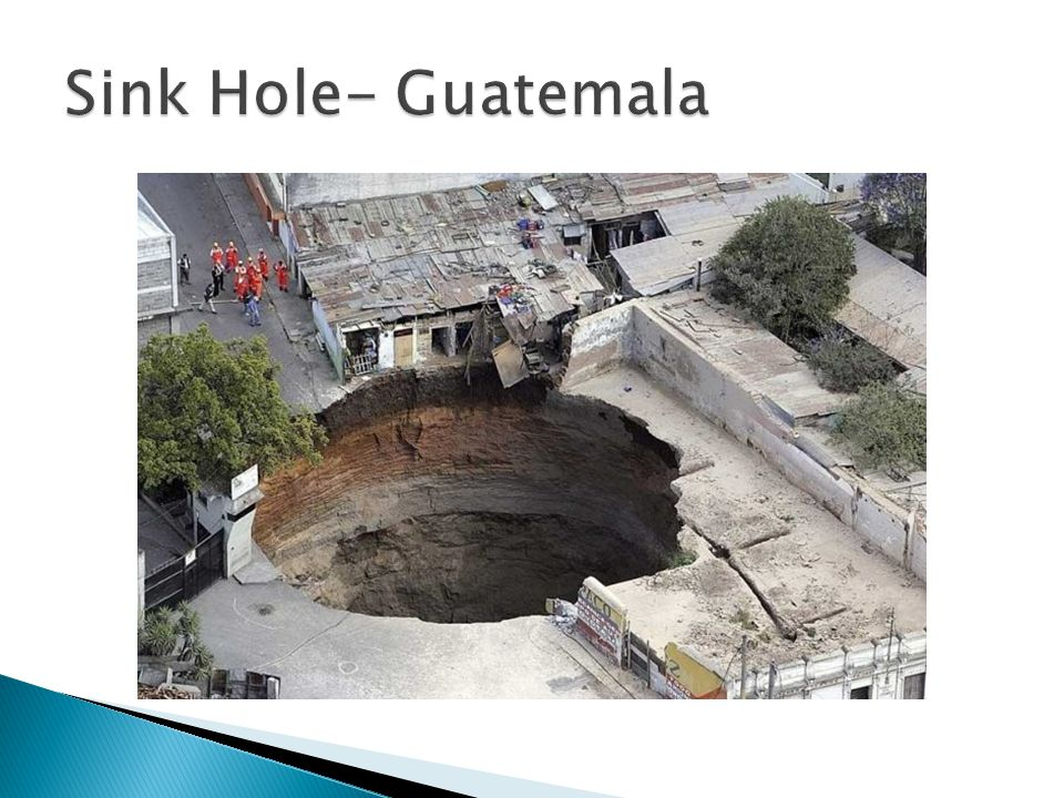 Sink Hole- Guatemala
