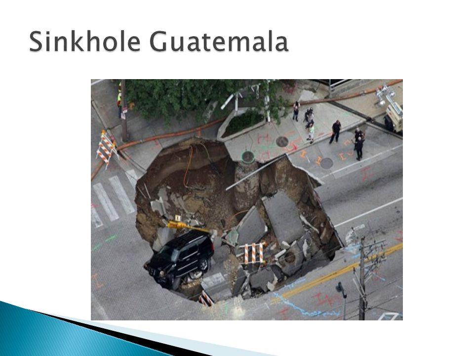 Sinkhole Guatemala