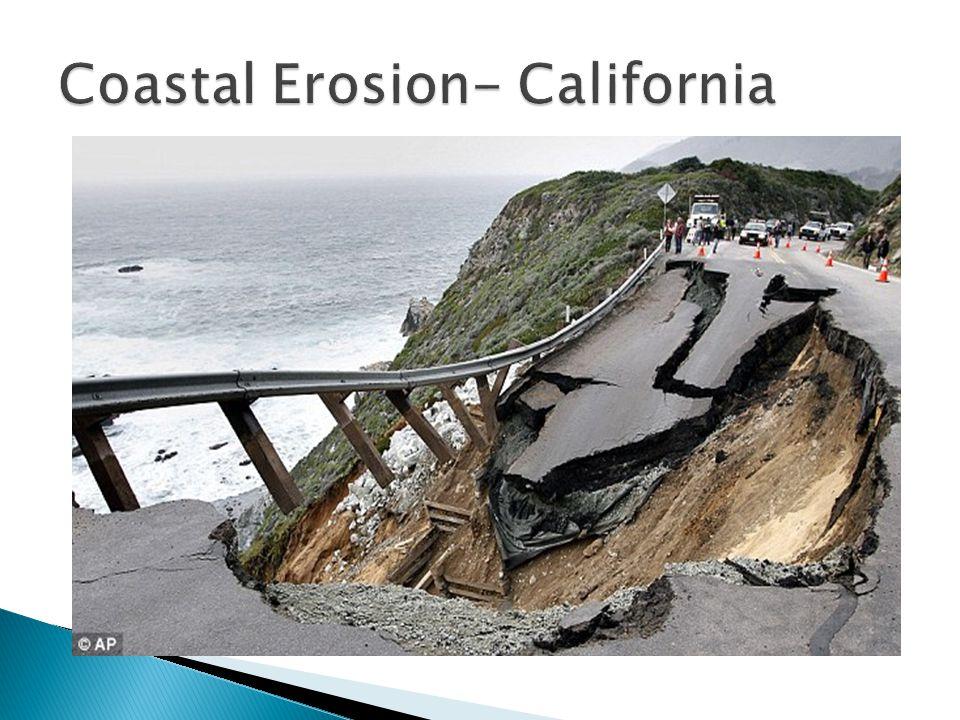 Coastal Erosion- California