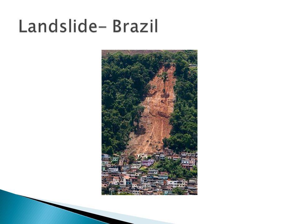Landslide- Brazil