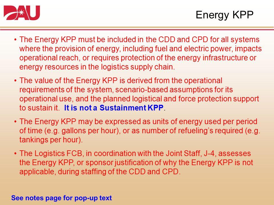 Energy KPP