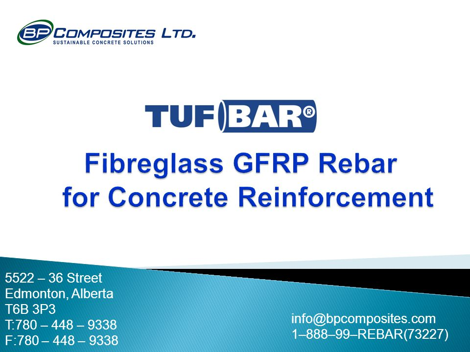 Fibreglass GFRP Rebar for Concrete Reinforcement