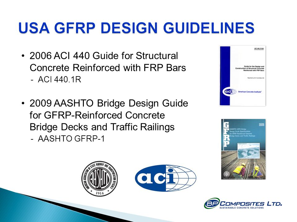 USA GFRP DESIGN GUIDELINES