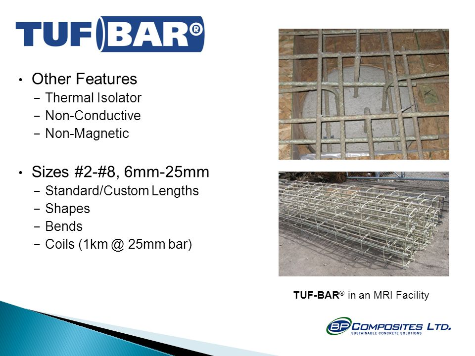 TUF-BAR® in an MRI Facility
