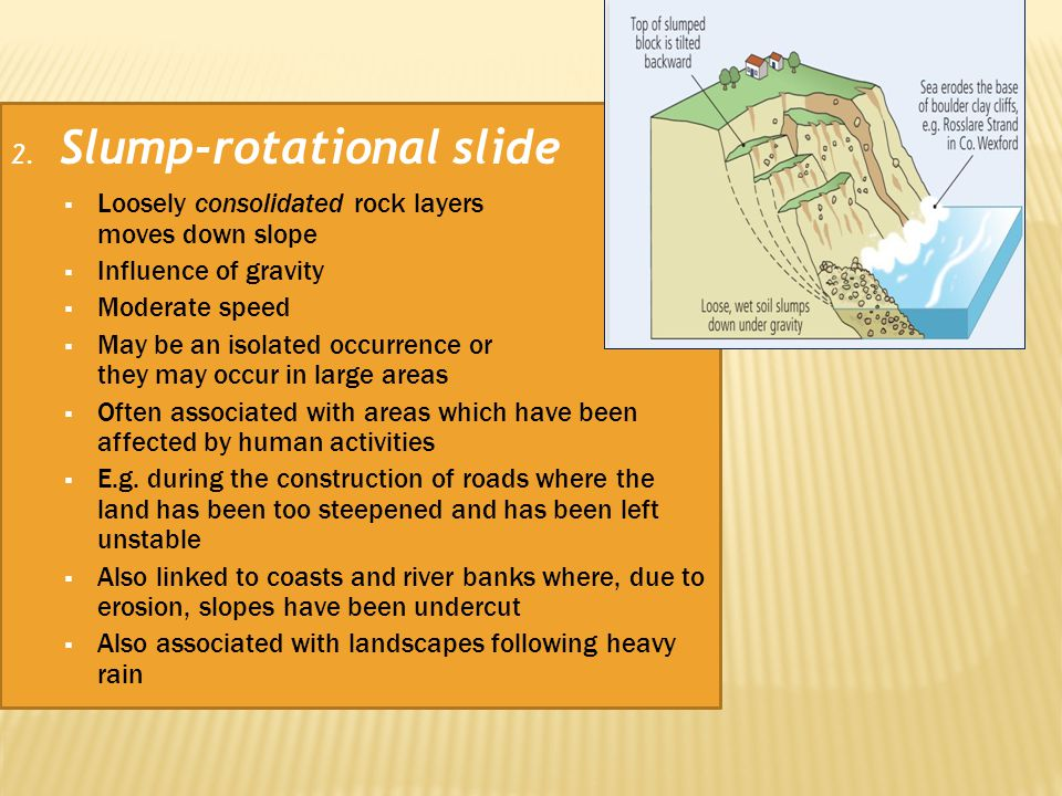 2. Slump-rotational slide
