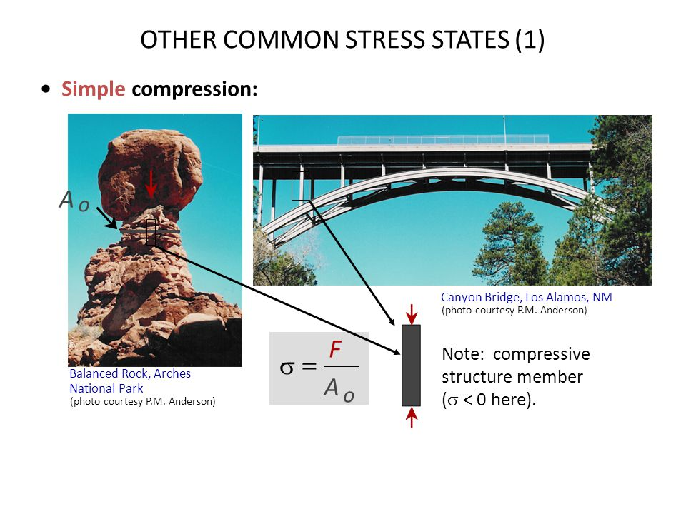 OTHER COMMON STRESS STATES (1)