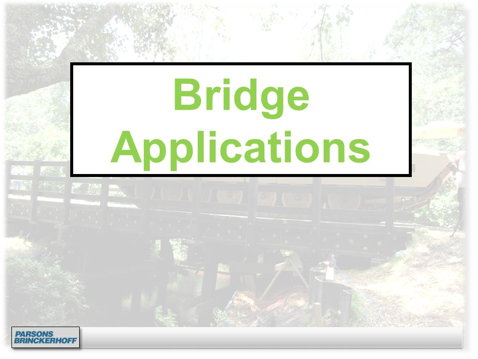Bridge Applications
