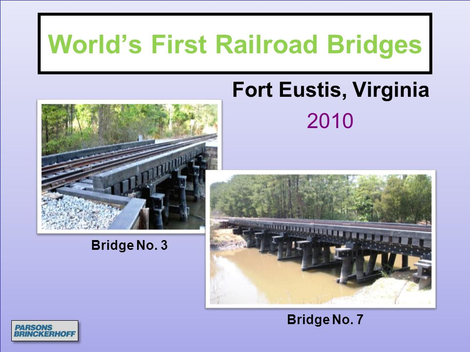 World's First Railroad Bridges