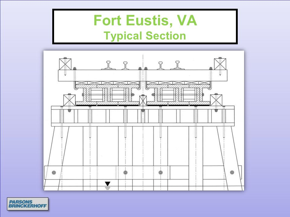 Fort Eustis, VA Typical Section