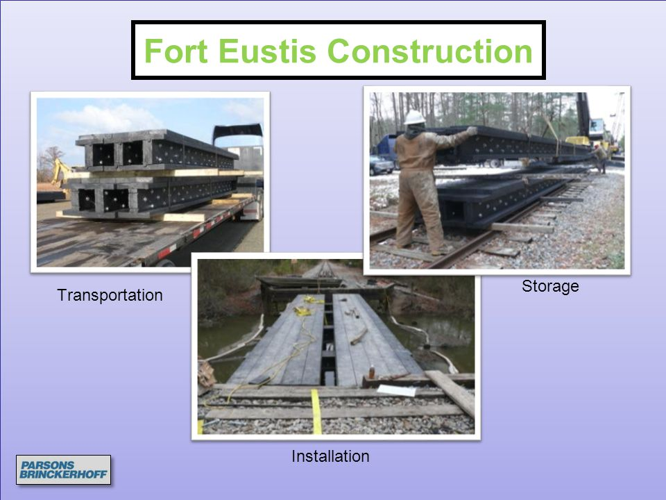 Fort Eustis Construction