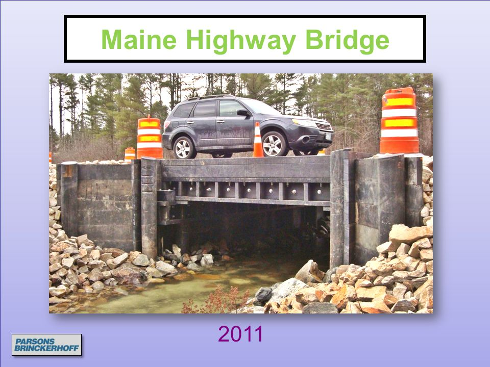 Maine Highway Bridge 2011