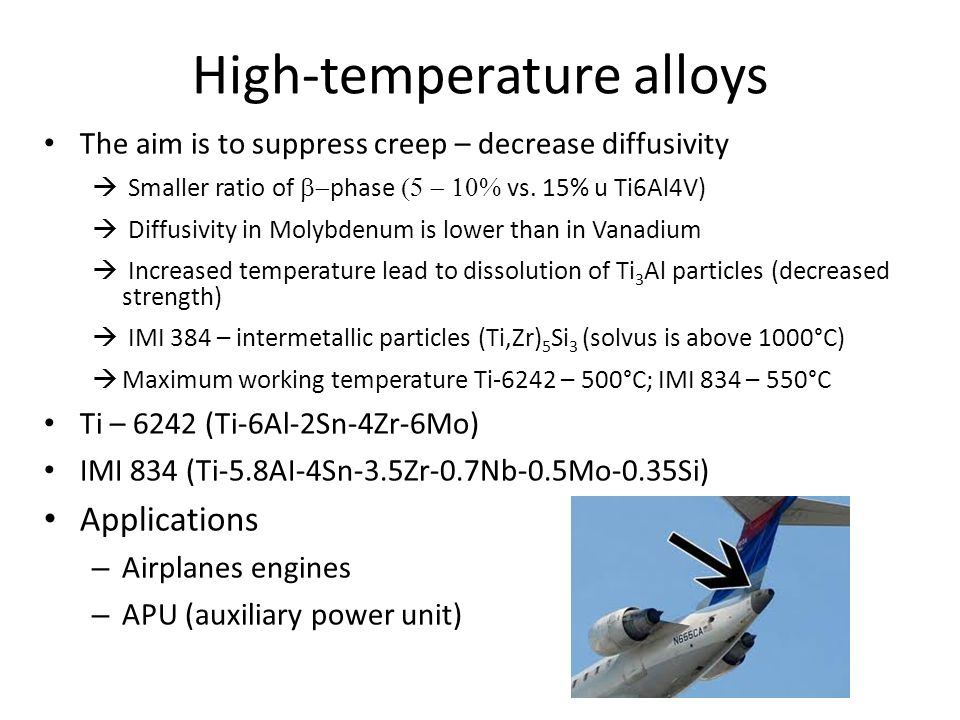 High-temperature alloys
