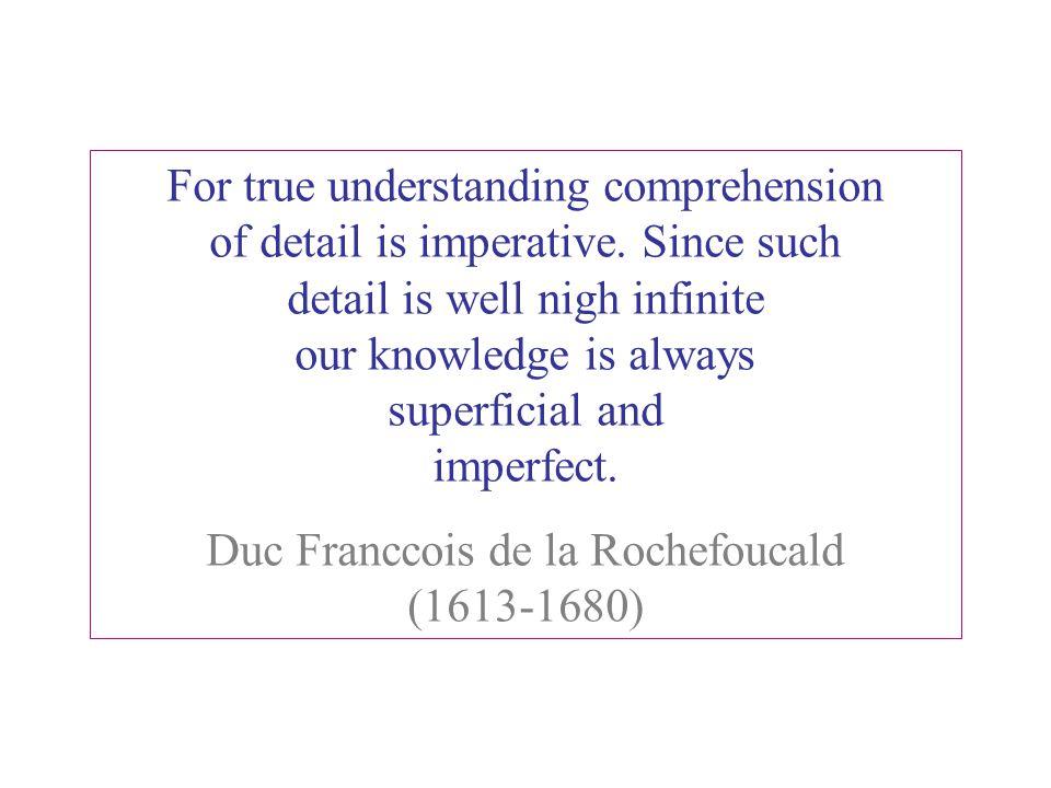 Duc Franccois de la Rochefoucald (1613-1680)